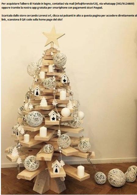 Immagini Alberi Di Natale.Albero Di Natale In Legno Lorenzi S R L